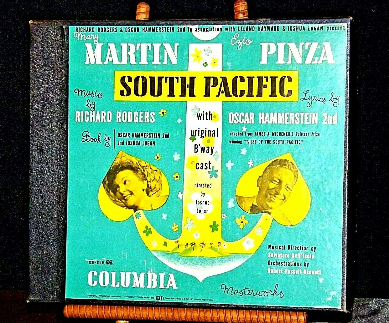 Antique Masterworksof Columbia Records 1949 Southern Pacific AA19-1493