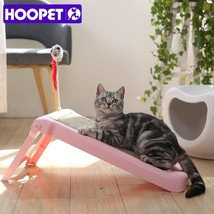 HOOPET® Pet Toy Cat Scratch Board Grinding Nail Scratching Post Corrugat... - £40.45 GBP
