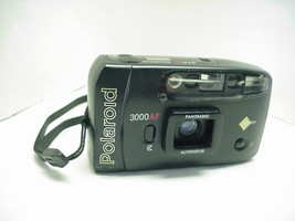 Polaroid 3000AF Panoramic  35mm Camera with Built-in Flash - $9.89