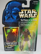 Star Wars Power Of The Force - Weequay Skiff Guard (Green Card) - Kenner 1997 - $8.00