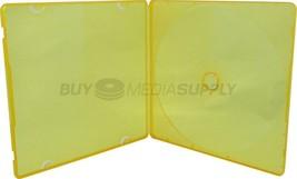 5mm Slimline Orange Color 1 Disc CD/DVD PP Poly Case - £8.58 GBP+