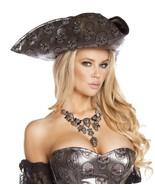 Pirate Skull Skeleton Villain Hat Women's Full Size Costume - $35.00