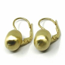 Aquaforte Earrings in Silver 925 with Disk 12 MM Gold Made in Italy image 2