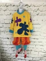 Disney Jo Jo Circus Clown Halloween Costume Jo 2T 3T Xxs Jojos Jo Jo's No Hat - $19.79