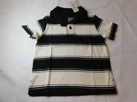 The Children's Place Baby Jungen Kurzarm Polo Hemd Größe 6-9 Monate Schwarz - $13.51