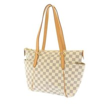LOUIS VUITTON Totally PM Damier Canvas Azur N51261 LV Shoulder Bag France - $952.45