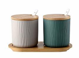 Gentle Meow Creative Porcelain Condiment Jar Household Oil Chili Spice Jar,White - $41.46