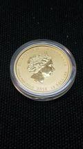 2016 1/10 oz Gold Year of The Monkey BU (In Capsule) Australia Perth Mint Lunar image 4