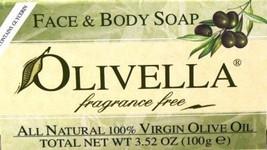 Olivella Soap Bar 3.52 oz. Fragrance Free Case of 6