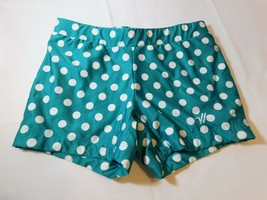 Varsity Spirit Youth Cheerleading Bike Shorts Size S small Teal White do... - $16.03