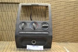 04-08 Ford F-150 Radio Climate Dash Trim With Controls 6L302TA3JA6 Unit 188-9C2 - $55.74