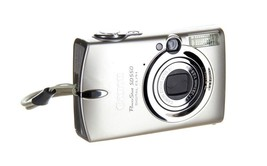 Canon Powershot SD550 7.1MP Digital Elph Camera with 3x Optical Zoom - $98.01