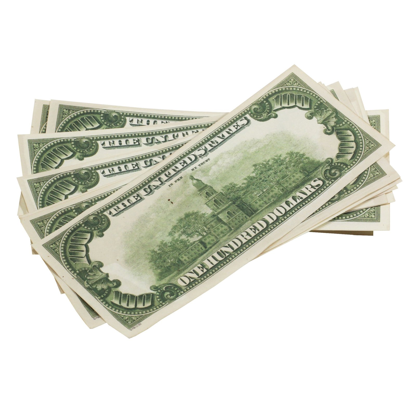 1980s Series $100s Aged $1,000,000 Full Print Package Realistic Prop Money image 7