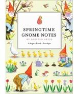 Springtime Gnome Notes Notecards Set, NEW - $13.95