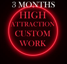 NO DEALS 3 MONTHS OF CUSTOM HIGH ATTRACTION AMULETS MAGICK FULL COVEN 95... - $2,700.77
