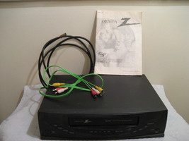 ZENITH speakEZ vhs player/4 head # vrb410 - $45.98