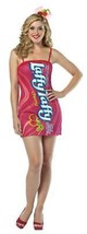Laffy Taffy Womens Costume Tube Dress Cherry Candy Adult Halloween Uniqu... - $44.99