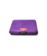 Colorful Aluminum Wallet Credit Card Holder ~ Style 614D - $8.95
