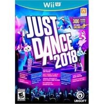 Ubisoft UBP10802112 Just Dance 2018 - Nintendo Wii U - $48.10