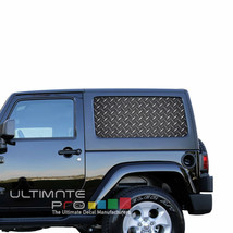 Sticker Bomb  SeeThru Stickers Perforated for Jeep Wrangler 2 doors side... - $59.80
