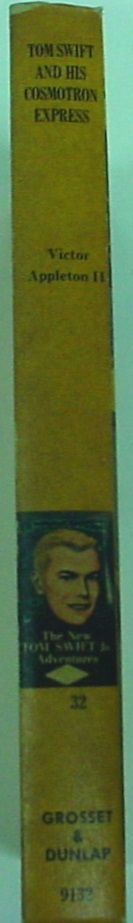 Tom Swift and His Cosmotron Express no.32 Victor Appleton II First Edition hc