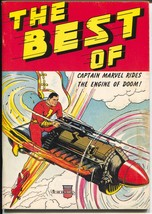 Best of Captain Marvel #1 1975-1st issue-reprints 40's Capt Marvel stories-VG/FN - $60.53