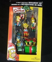 Kurt Adler The Simpsons Christmas Ornaments 5 Piece Set - $19.75