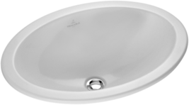 Villeroy & Boch 615500R1 Loop & Friends Oval Undermount Washbasin in White - $430.65