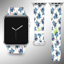 Stitch Disney Apple Watch Band 38 40 42 44 mm Series 1 2 3 4 Wrist Strap 01 - $24.99+