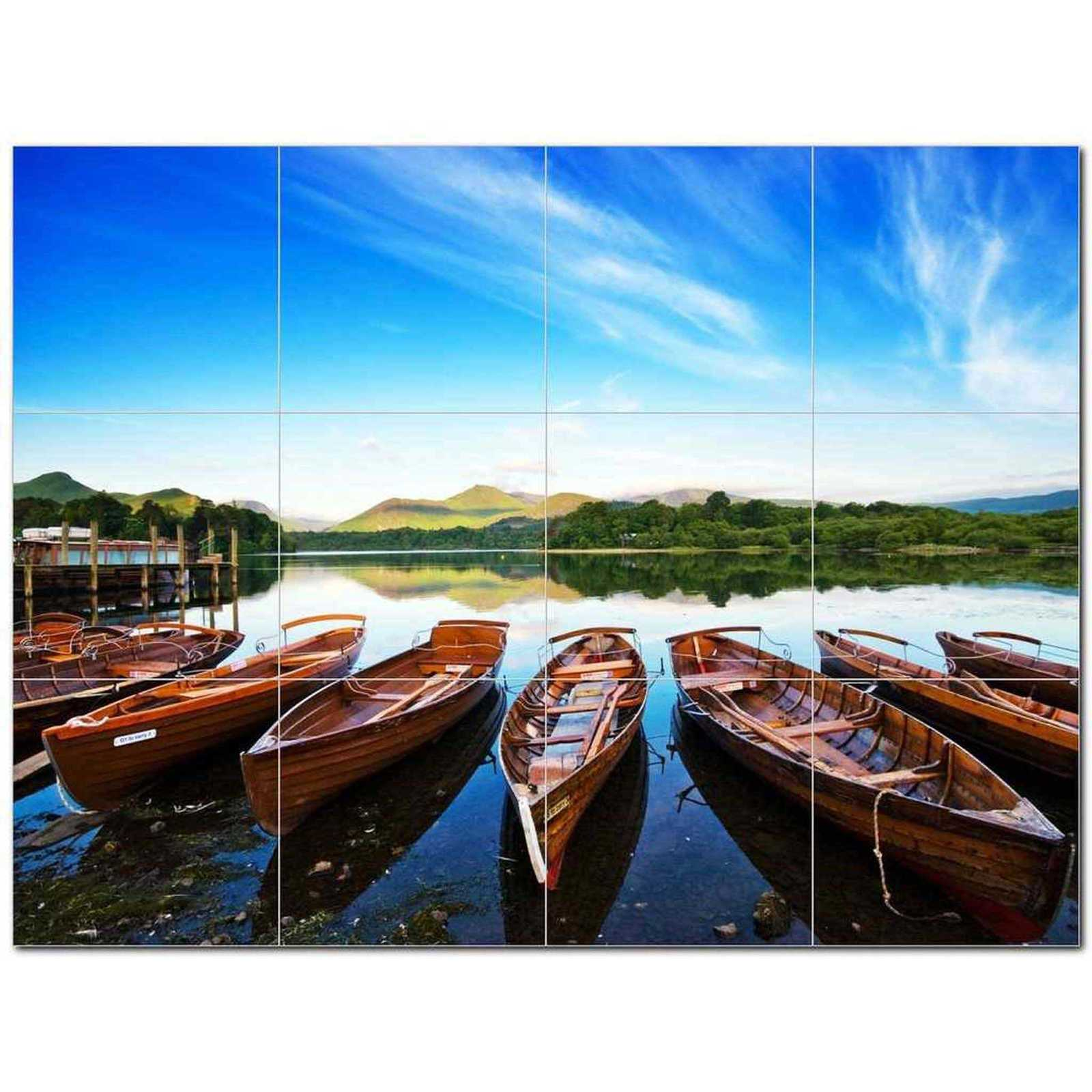 Primary image for Ship Picture Ceramic Tile Mural Kitchen Backsplash Bathroom Shower BAZ405873