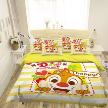 3D Rabbit Anime 026 Bed Pillowcases Quilt Duvet Single Queen King US Lemon - $102.84+