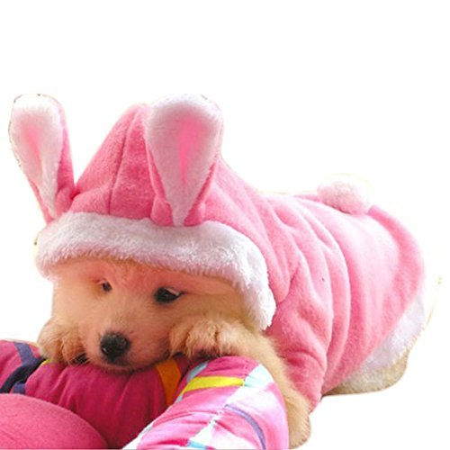 Primary image for NACOCO Dog Rabbit Costume Pet Puppy Hoodies Clothes Coat Bunny Autumn Winter Hal