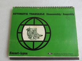 1981 Ford Escort Lynx Automatic Transaxle Service Repair Manual OEM Factory - $5.84