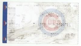 Pittsburgh @ Chicago 4/5/02 Ticket Stub! Pirates 2 Cubs 1 Sammy Sosa HR - $4.99