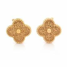 Van Cleef & Arpels 18K Rose Gold Magic Alhambra Clip Earrings - $4,150.00
