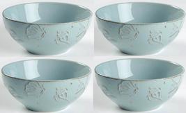 Thomson Pottery Cape Cod Seashell Soup Bowls, Set of 4 - $27.99
