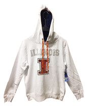 Illinois Fighting Illini Pullover Hoodie w/ Bling Sequins Size M - NWT $... - $36.63
