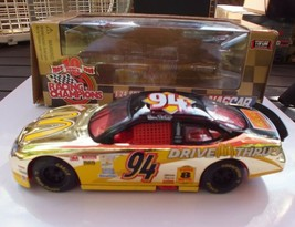 BILL ELLIOTT MCDONALDS #94 RACING CHAMPIONS GOLD PAINT DIECAST CAR - 1/2... - $19.88