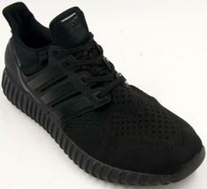 Adidas Yzy Boost S77416 Men's All Black Sneakers Sz 10 M EUC - $189.99