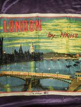 Vintage London by Night by Blackstaff Pure Irish Linen Towel Art image 3
