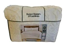 Nip Better Homes and Gardens Ivoire Touffeté Médaillon Complet/Reine Doudou Set - $95.50