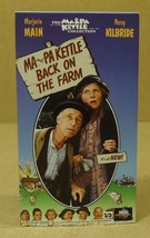 MCA Universal Ma And Pa Kettle Back On The Farm VHS Movie  * Plastic Paper - $5.22