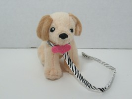 Battat Our Generation doll's cream tan beige poodle dog yellow golden la... - $7.91