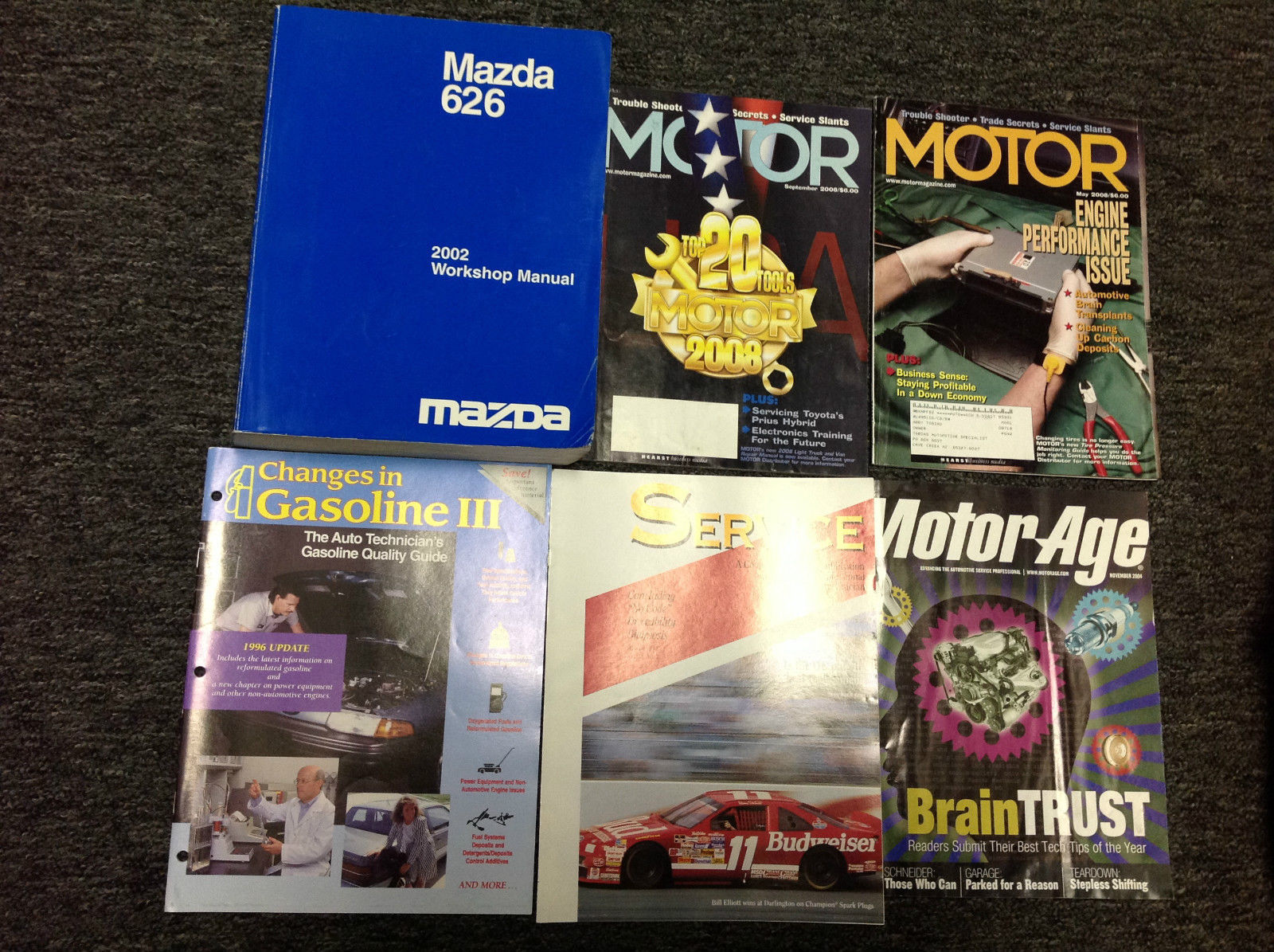 Primary image for 2002 Mazda 626 Service Repair Shop Workshop Manual FACTORY W Magazines Free