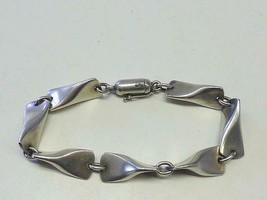 GEORG JENSEN Butterfly Bracelet Edvard Kindt Larsen 925S Sterling Silver... - $514.79