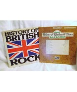 History of Rhythm & Blues and History Of British Rock LP Lot - $28.00