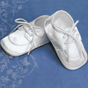 Preemie & Baby Boys Dress Up Baby Satin Booties