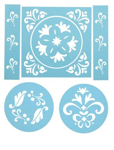 Primary image for Wilton 6 Piece Traditional Stencil Set