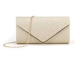 Nodykka Clutch Purses for Women Evening Bags Sparkling Shoulder Envelope... - $16.09
