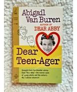 ABIGAIL VAN BUREN DEAR TEENAGER PB: CARDINAL ED 1961: VG CONDITION - $7.00